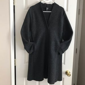 Eileen Fisher wool coat ... vintage! Size M.
